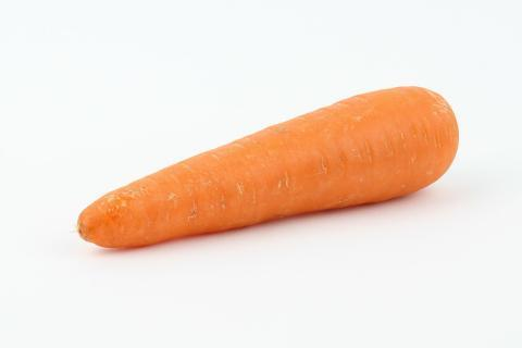 "The carrot. The Dutch for ""the carrot"" is ""de wortel""."