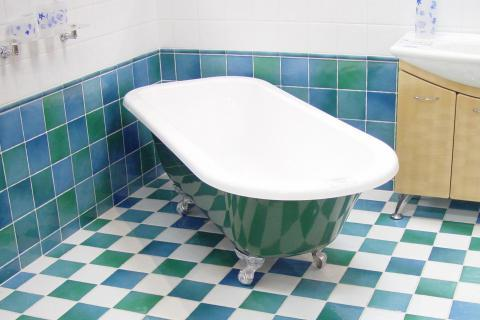 "Bath; bathtub. The French for ""bath; bathtub"" is ""baignoire""."