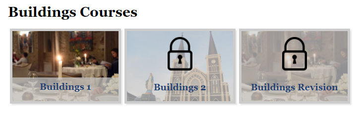 Buildings Courses (French)