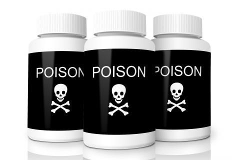 "Poison; toxin. The Thai for ""poison; toxin"" is ""พิษ""."