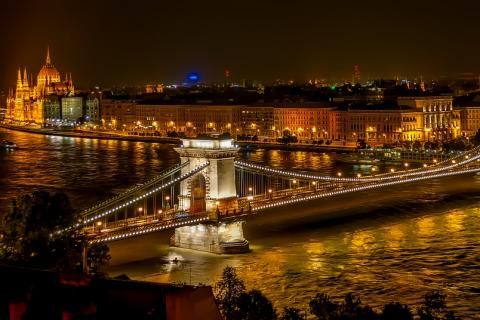 "Budapest (the capital of Hungary). The Thai for ""Budapest (the capital of Hungary)"" is ""บูดาเปสต์""."