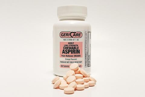 "Aspirin. The Thai for ""aspirin"" is ""แอสไพริน""."